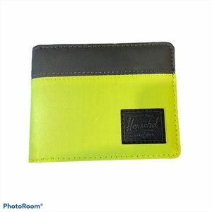 NWOT HERSCHEL Green & Black Wallet
